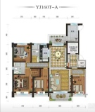 天水碧桂园 交通便利 生活舒适 4室2厅2卫 182.84㎡